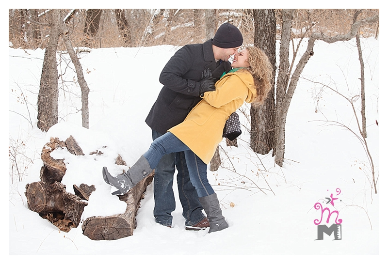 Wichita Wedding Photographers: Tish and Chris' Engagement Sessions